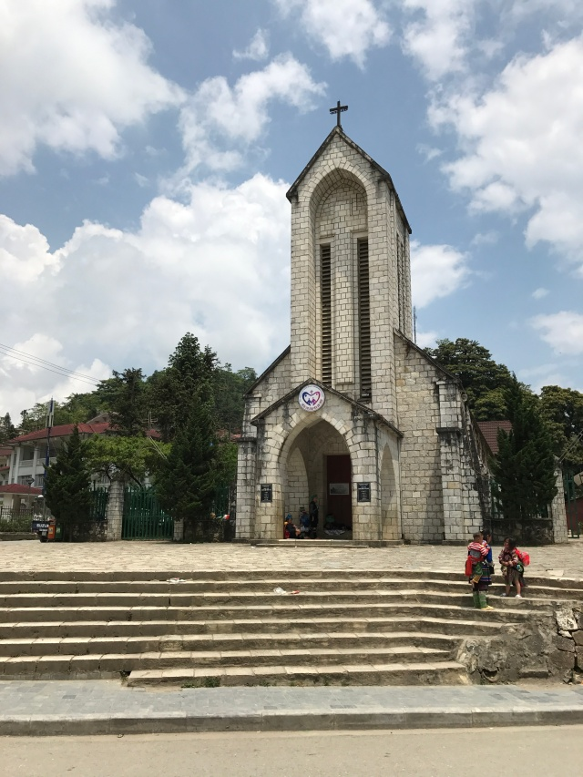 Catholic church in sapa