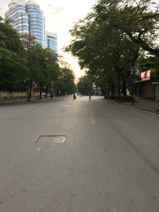 empty morning street