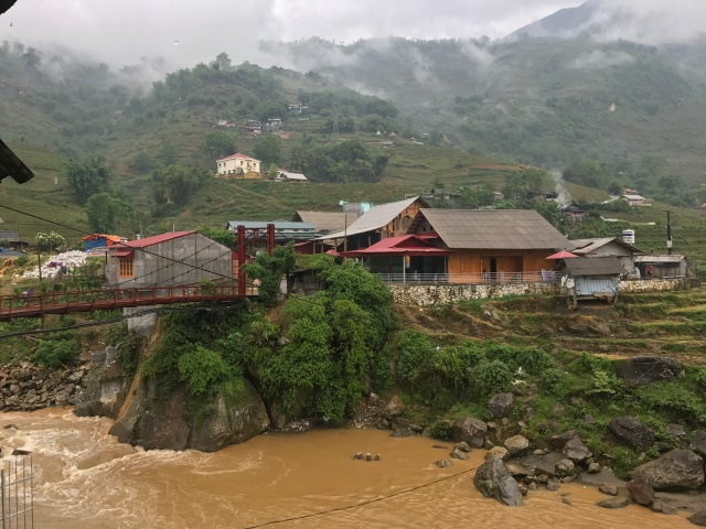 when it rains in Sapa